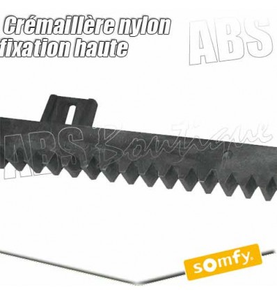 Cr maill re nylon fixation haute somfy 1000 mm for Diferbat porte garage