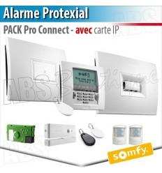 Alarme sans fil PROTEXIAL io et RTS Somfy - PACK PRO CONNECT