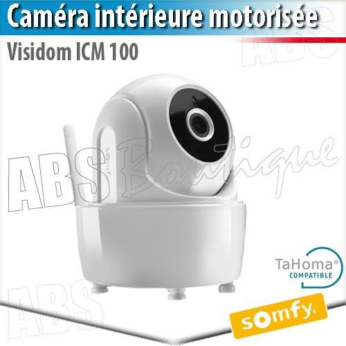 Cam ra de surveillance ext rieure motoris e somfy - Camera exterieure somfy ...
