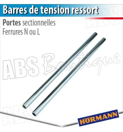Barres de tension pour ressort de porte sectionnelle h rmann - Pieces detachees porte sectionnelle hormann ...
