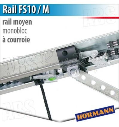 Rail moteur en 1 partie fs10 m pour supramatic et - Moteur porte de garage hormann supramatic ...