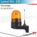 Feu de signalisation Marantec - CONTROL 950 en 24 V avec fixation
