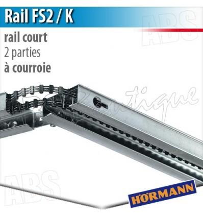 Rail moteur en 2 parties fs2 k pour supramatic et promatic for Programmation moteur porte de garage one