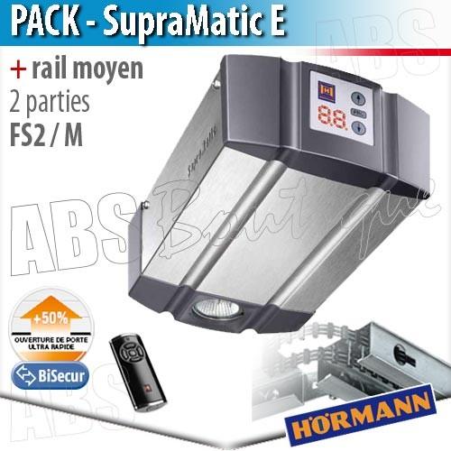 Pack moteur supramatic e s rie 3 t l commande hs5 bs for Motorisation porte sectionnelle garage