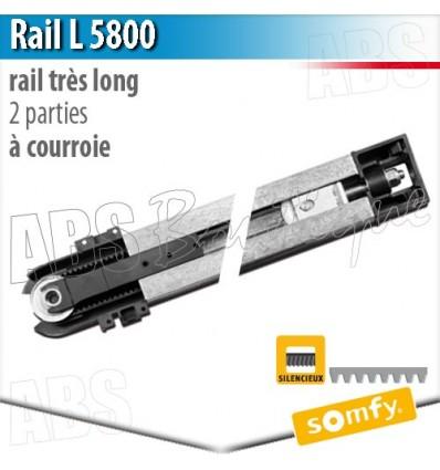 Rail Moteur Somfy L Parties Courroie - Moteur porte de garage somfy