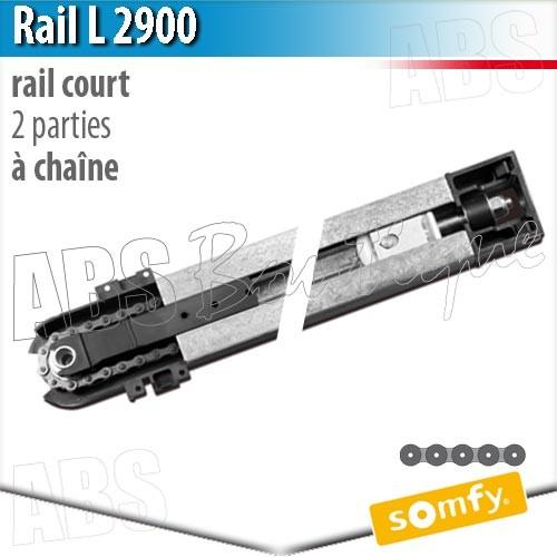 Rail Moteur Somfy L Parties Chaîne - Moteur porte de garage somfy
