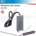 Récepteur HE 3 Hörmann 3 canaux - 868 MHz