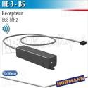 Récepteur HE 3 BS Hörmann 3 canaux - 868 MHz - BiSecur