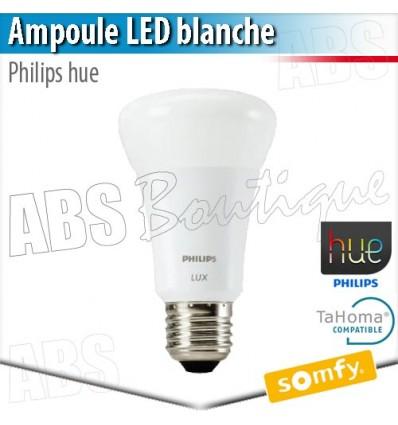 Ampoule blanche Philips hue E 27 - Eclairage connecté