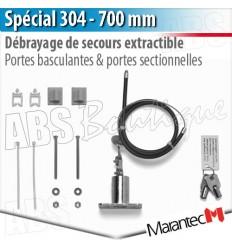 debrayage special 304 marantec 700 mm sectionnelle et portail. Black Bedroom Furniture Sets. Home Design Ideas