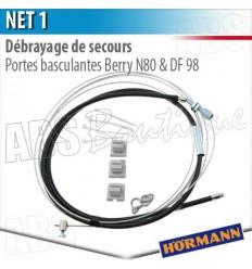 Débrayage de secours NET 1 Hörmann - Porte basculante Berry