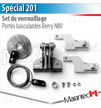 Set de verrouillage SPECIAL 201 Marantec - Portes basculantes Berry