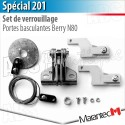 Set de verrouillage SPECIAL 201 Marantec - Porte basculante Berry