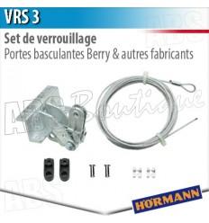 Set de verrouillage vrs 3 h rmann porte basculante berry - Verrouillage porte de garage basculante ...