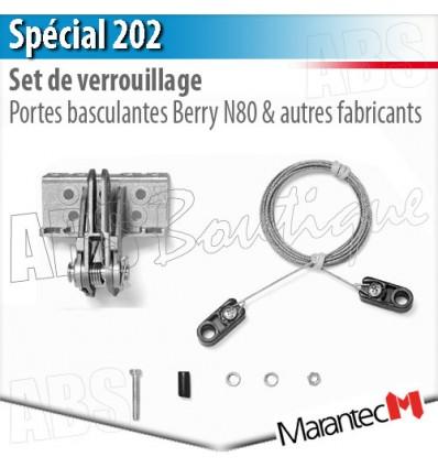 Set de verrouillage special 202 marantec porte - Pieces detachees pour porte de garage basculante ...
