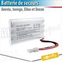 Batterie de secours AXOVIA - DEXXO - ELIXO - IXENGO Somfy