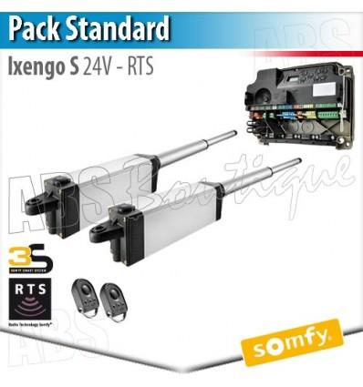 Motorisation portail Somfy - IXENGO S 24V - Pack Standard - RTS