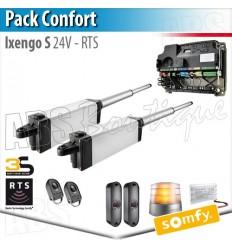 Motorisation portail Somfy - IXENGO S 24V - Pack Confort - RTS