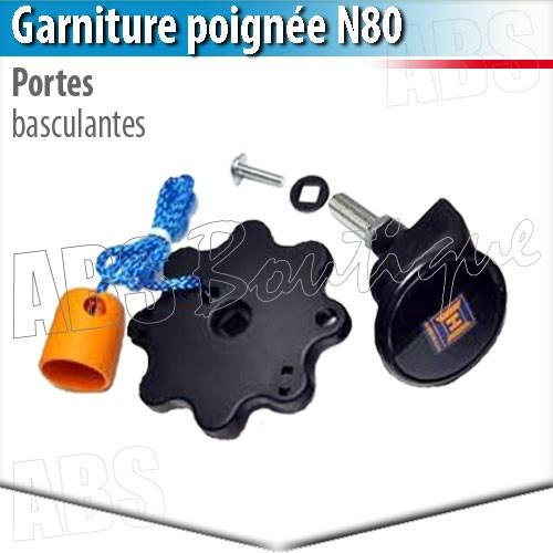 Poign e porte de garage basculante d bordante h rmann - Pieces detachees pour porte de garage basculante ...