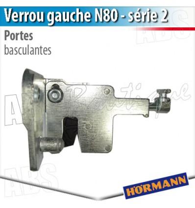 Verrou N80 gauche (série 2) Hörmann - Porte basculante Berry