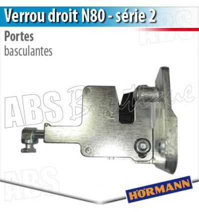 Verrou porte basculante d bordante h rmann s rie 2 - Pieces detachees pour porte de garage basculante ...