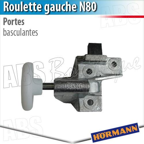 roulette porte basculante débordante hörmann - berry n80 gauche