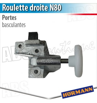 Roulette porte basculante d bordante h rmann berry n80 - Pieces detachees porte sectionnelle hormann ...
