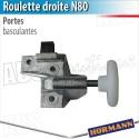 Roulette N80 droite Hörmann - Porte basculante Berry