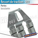 Ressort 002 - Porte bascualnte Berry N80 Hörmann