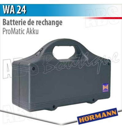 Batterie de rechange WA 24 Hörmann - ProMatic Hörmann