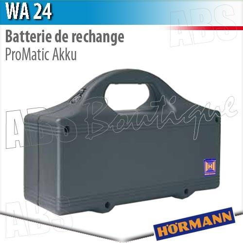 Batterie de rechange wa 24 h rmann pour motorisation promatic akku - Parkside batterie de rechange ...