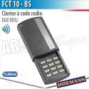 Clavier à code radio Hörmann - FCT 10 BS - 868 MHz - BiSecur