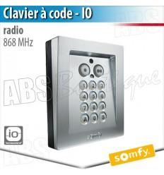 Clavier à code radio IO Métal - Somfy