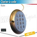 Clavier à code filaire - Somfy