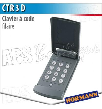 Clavier à code filaire Hormann CTR 3d