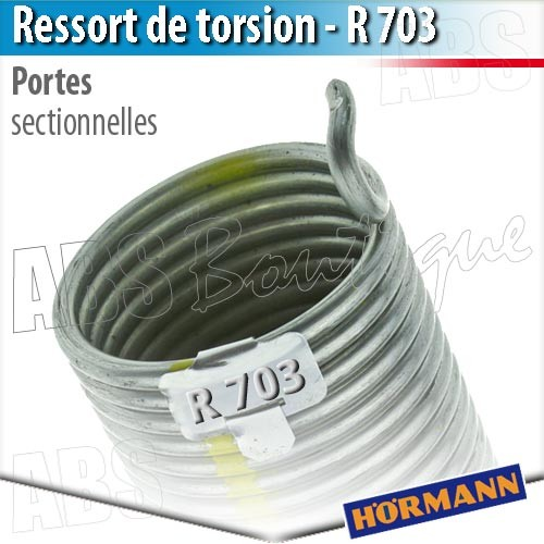 Ressort porte sectionnelle h rmann r 703 - Pieces detachees porte sectionnelle hormann ...