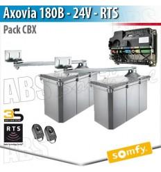Motorisation portail battant Somfy - AXOVIA 180B - Pack CBx RTS / Produit obselète non remplacé