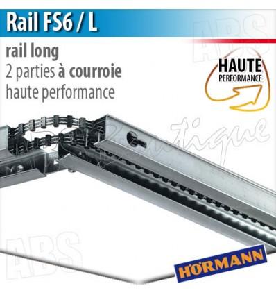 Rail moteur Hörmann - FS 6 / L - Hte Performance - courroie - 2 parties