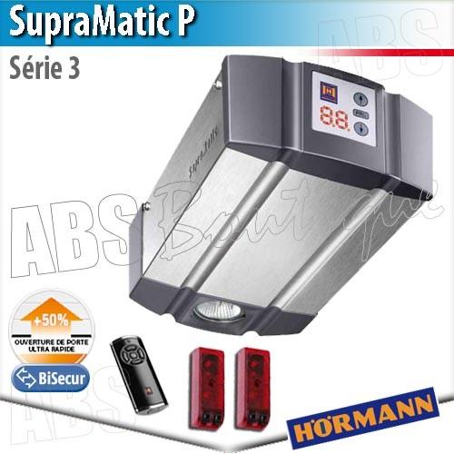 Pack moteur supramatic p t l commande hs5 bs rail fs2 for Moteur porte de garage magic 1000