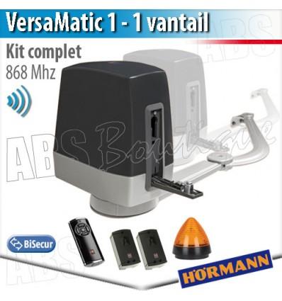 Moteur De Portail Battant 1 Vantail Versamatic Bisecur Telecommande