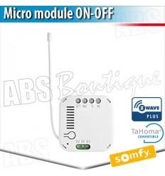 Micro-récepteur éclairage on/off ZWAVE - Eclairage connecté