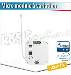 Micro-récepteur éclairage variation ZWAVE - Eclairage connecté