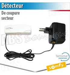 Détecteur de coupure secteur - Alarme Somfy & TaHoma