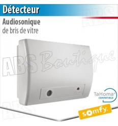 Détecteur audiosonique de bris de vitre - Alarme Somfy & TaHoma