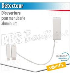 Détecteur d'ouverture menuisie aluminium - Alarme Somfy & TaHoma