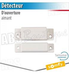 Aimant détecteur d'ouverture menuisie aluminium - Alarme Somfy & TaHoma