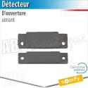 Aimant détecteur d'ouverture menuiserie aluminium - Alarme Somfy & TaHoma