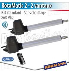 Motorisation portail battant Hörmann - RotaMatic 2 BiSecur
