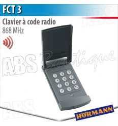 Clavier à code radio Hormann - FCT 3 B - 868 MHz