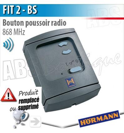 Bouton poussoir radio FIT 2 BS Hörmann - 868 MHz BiSecur